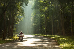 Ride through light Royalty Free Stock Photography