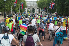 Ride London 2014 Royalty Free Stock Photography