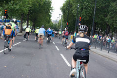 Ride London 2014 Stock Photo