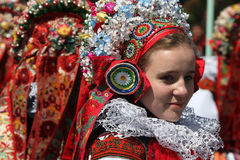Free Ride Of The Kings Folklore Festival In Vlcnov, Czech Republic Stock Photos - 50015663
