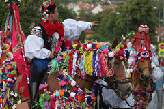 Free Ride Of The Kings Folklore Festival In Vlcnov, Czech Republic Stock Photos - 52557803