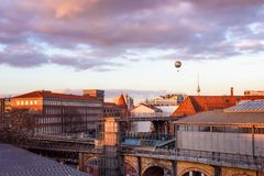 Berlin Balloon Germany Royalty Free Stock Photography
