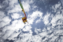 Ride in the sky Royalty Free Stock Photos
