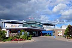 Rideau卡尔顿跑道在渥太华 图库摄影