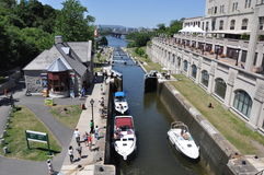 Rideau канала Стоковое Изображение