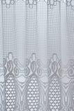 Rideau blanc Photo stock