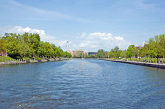 Rideau Canal Royalty Free Stock Image