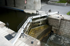 Rideau Canal Locks - Ottawa - Canada Stock Photo