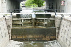 Rideau Canal Locks - Ottawa - Canada Royalty Free Stock Photos