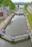 Rideau Canal Locks Ottawa Royalty Free Stock Photo