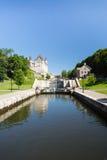 Rideau Canal Locks in Ottawa Ontario Canada Stock Photos