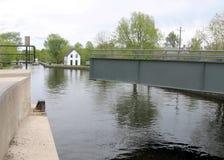 Rideau Canal Merrickville lock 2008 Royalty Free Stock Photo