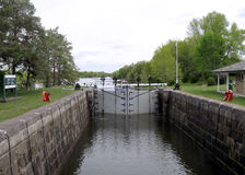 Rideau Canal Nicolls Island the lock 2008 Royalty Free Stock Images