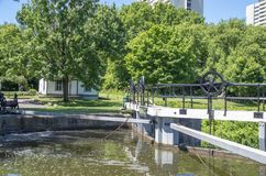 Lock Keepers` Cottage 1 royalty free stock photo