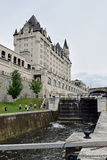 Rideau Canal and Ottawa Locks at Ottawa, Ontario, Canada Stock Photography