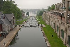 Rideau de canal Photo stock
