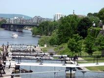 Rideau del canale di Ottaya immagini stock libere da diritti