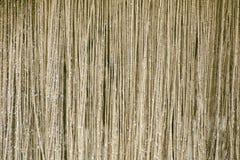 Rideau des chaînes métalliques brillantes d'or Texture images stock