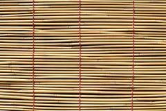 Rideau en bambou photos stock