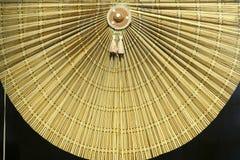 Rideau en bambou Photographie stock libre de droits