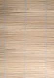 Rideau en bambou Images libres de droits