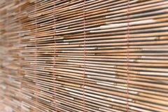 Rideau en bambou Photographie stock