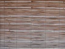 Rideau en bambou Photo libre de droits