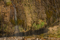 Rideau en eau en Maria Alm, Autriche photos stock