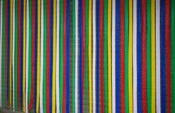 Rideau en plastique coloré, fond coloré vertical illustration stock