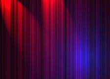Rideau en théâtre Images libres de droits