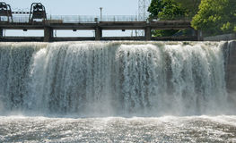 Rideau Falls in Ottawa royalty free stock images