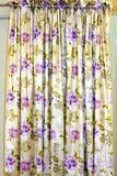 Rideau floral photographie stock libre de droits