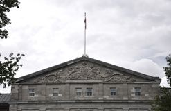 Rideau Hall building Gable details from Ottawa in Canada Royalty Free Stock Photography