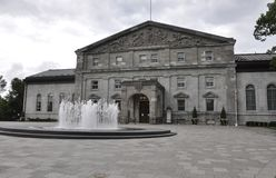 Ottawa, 26th June: Rideau Hall building from Ottawa in Canada Royalty Free Stock Photography