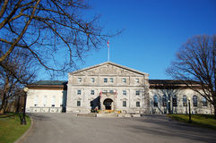Rideau Hall in Ottawa, Kanada Stockfotografie