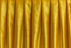 rideau jaune en tissu photo stock. Black Bedroom Furniture Sets. Home Design Ideas
