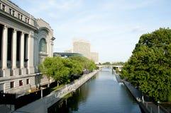 Rideau kanał Ottawa, Kanada - obrazy royalty free
