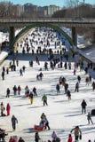 Rideau Kanal Skateway stockfotos