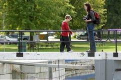 rideau ontario merrickville замка канала историческое Стоковые Изображения