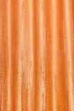Rideau orange image libre de droits