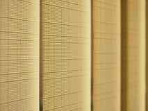 Rideau rayé en tissu photo libre de droits