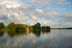 Rideau River in downtown Ottawa Stock Photography