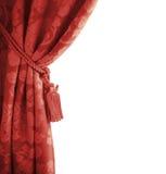 Rideau rouge Photo stock