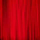 Rideau rouge sur le théâtre ENV 10 Photos libres de droits