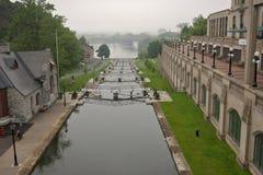 Rideau van het kanaal Stock Foto