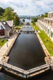 Rideaukanaal - Ottawa, Canada Royalty-vrije Stock Afbeelding