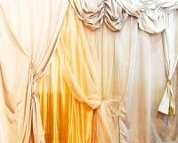 rideaux Photos libres de droits