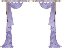 Rideaux de luxe illustration stock