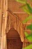 rideaux en bambou Photos stock