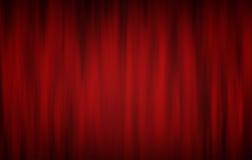 Rideaux en théâtre Image libre de droits